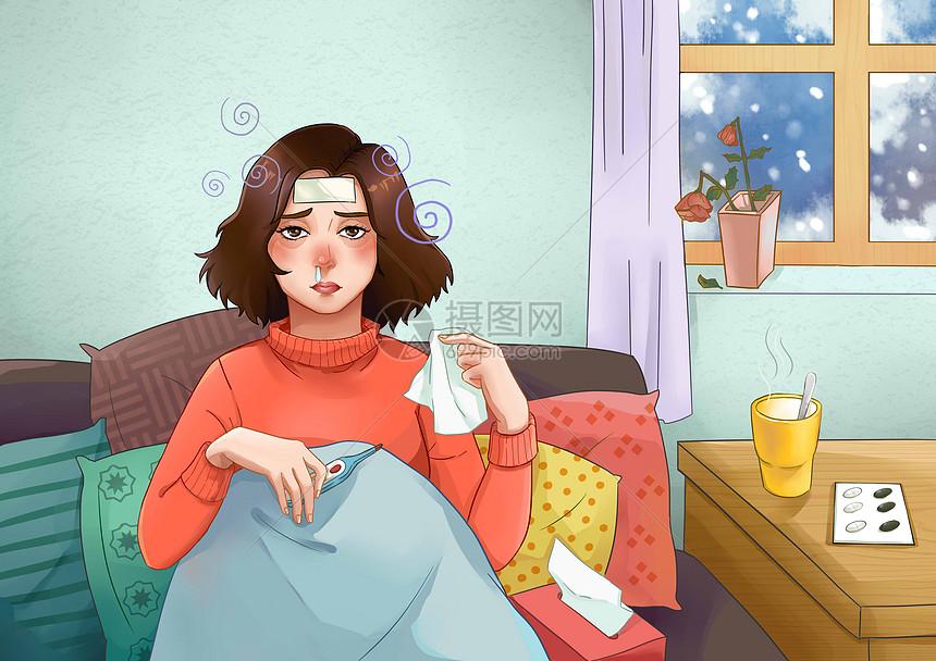 流感季节图片