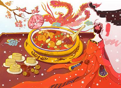 中国风腊八节图片