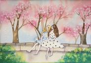 春天里的闺蜜图片