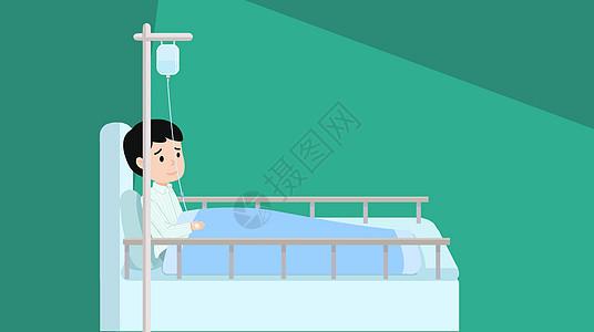 流感发烧图片
