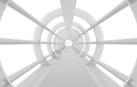 圆形几何通道图片