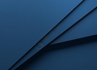 蓝色简洁几何卡片背景图片