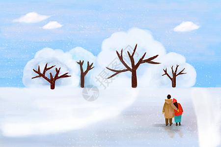 冬日恋人图片