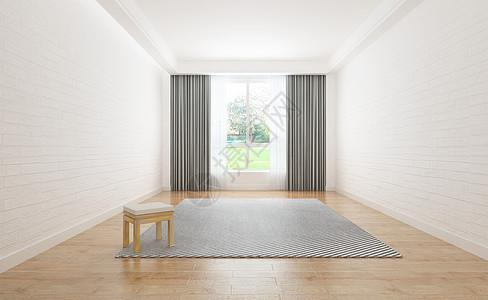 空旷的室内家居图片