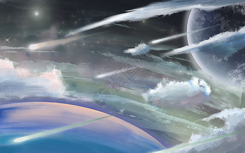 太空中的云朵picture
