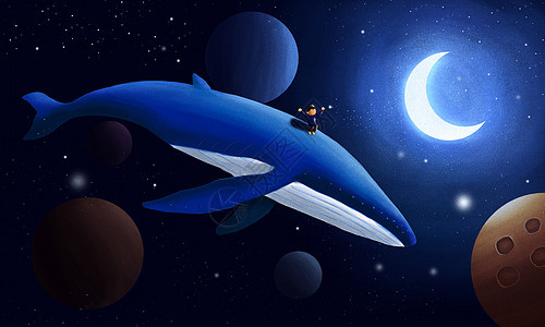 遨游的鲸鱼picture
