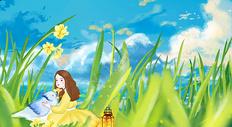 立春清新图片