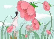 遇见花开图片