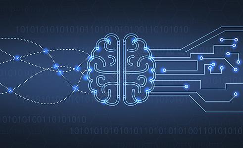 人工智能大脑高清图片