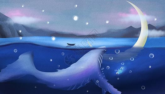 沉睡的鲸鱼图片