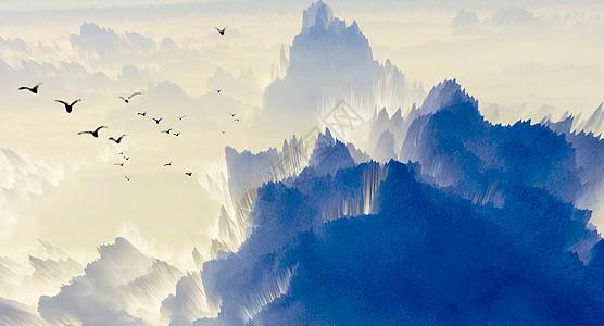 飞鸟山丘风景图片图片