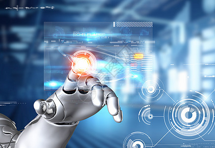人工智能机器人图片
