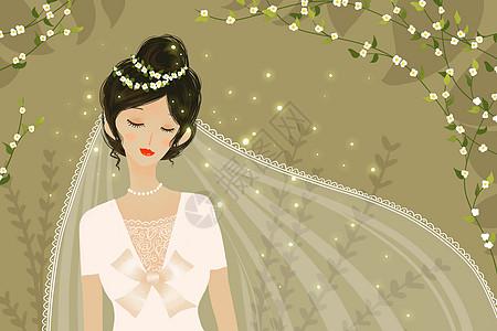 唯美新娘图片