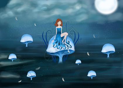 海上梦幻女孩图片