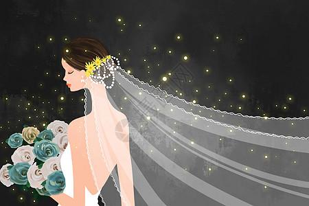 结婚新娘图片