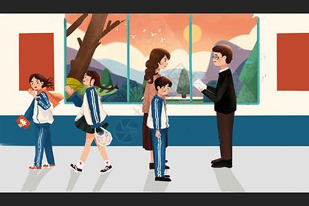 学校风光图片