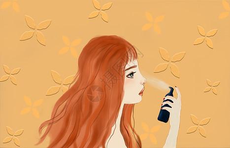 美女化妆图片