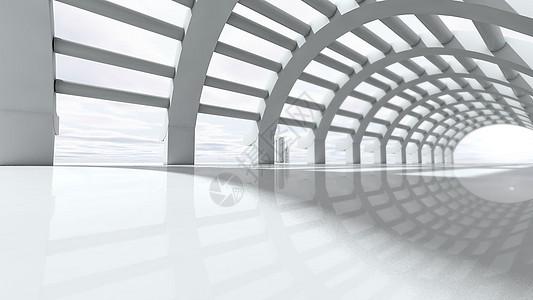 科技隧道背景图片
