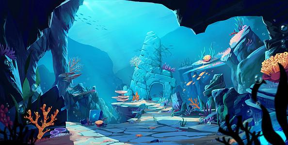 海底遗迹图片