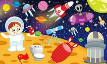 神奇的太空图片