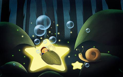 熟睡的小孩图片