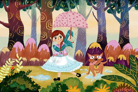 森林的故事图片