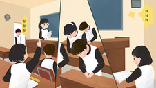 学校教室图片