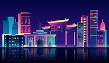 南京地标建筑图片