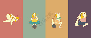 运动瑜伽图片
