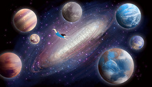 飞向宇宙星空图片