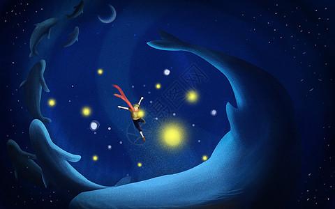 深海鲸梦图片