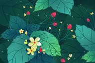 春天唯美植物背景图片