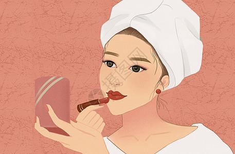美容化妆美女图片