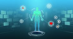 人工智能健康医疗科技图片