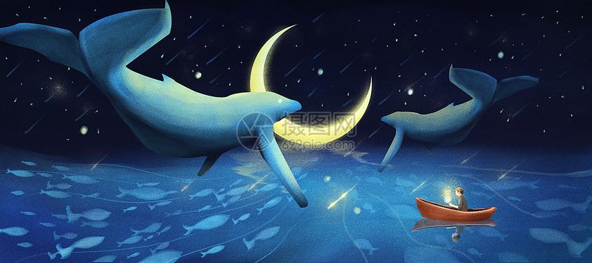 深海与星空图片