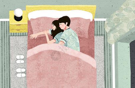 相互拥抱的情侣图片