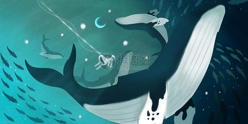 深海里的梦境图片