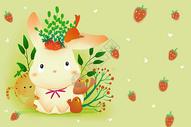 可爱兔子壁纸图片