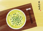 美食清汤面图片