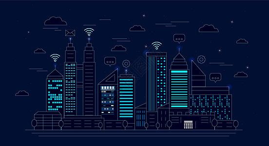 信息化城市图片