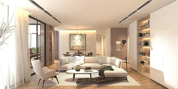 客厅风格简约设计图片