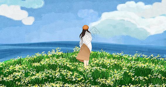 春暖花开面朝大海图片