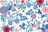 植物花卉背景插画图片