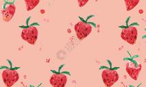 草莓水果壁纸图片