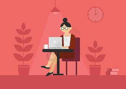 商务办公女性图片