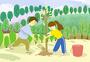 春天植树节活动图片