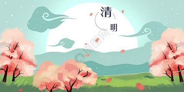 清明节踏青美景图片