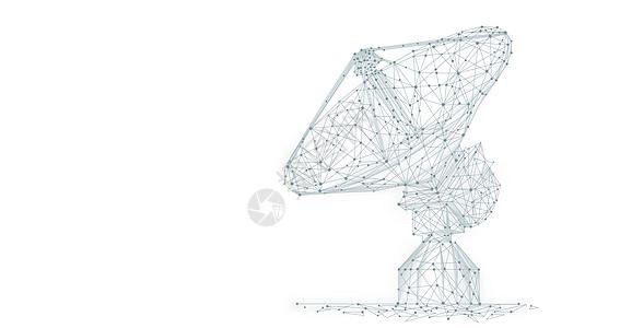 卫星接收设备图片