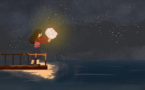 星空下的梦图片