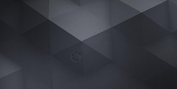 黑色立体背景图片